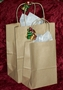 100% Recycled Kraft Bag