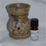 Soapstone Tea Light Diffuser Kit